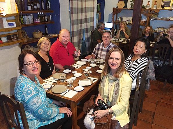 18 course tasting menu in Granada