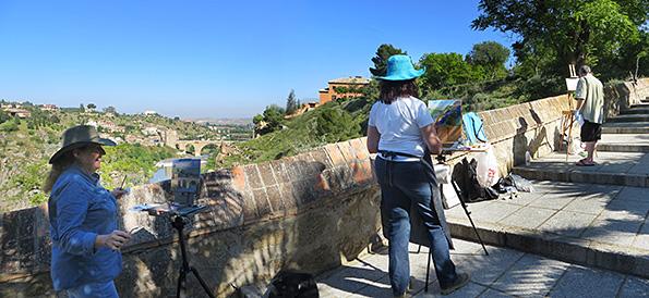 Painters in Toledo