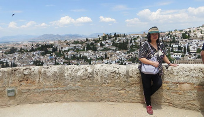 Photo op at the Alhambra