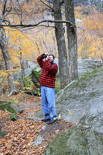 Capturing the beauty of Smuggler's Notch