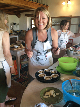 Loving the cooking lesson!