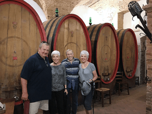 Now those are wine barrels!