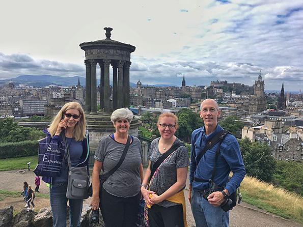 Edinburgh overlook.