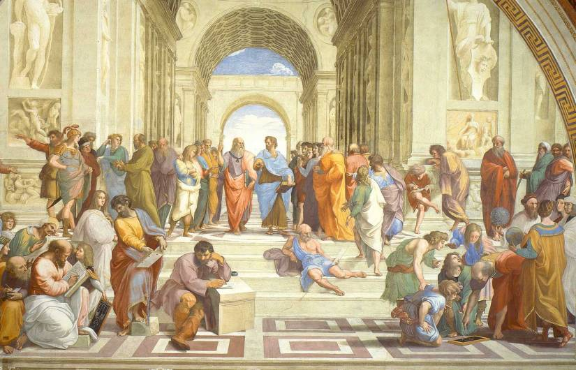 """L'INCREDIBILE ironia di Raffaello ne """"la scuola di Atene"""""""