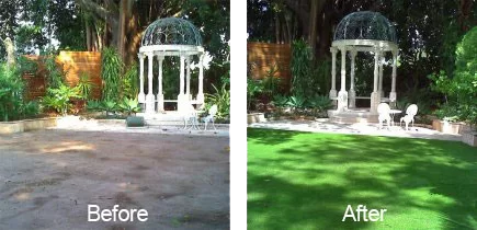 art-turf-before-after Artificial Grass For Garden And Landscape