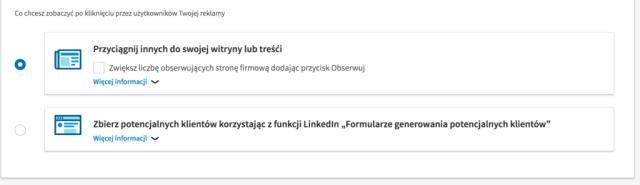 leady z linkedina  Reklama na Linkedin – od ustawień po średnie koszty. Poradnik pozyskiwanie leadow linkedin 1024x296