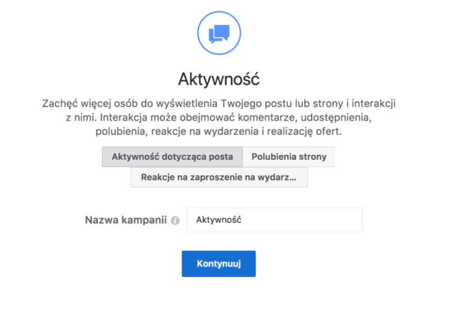 promowanie postów na facebooku - aktywność  Promowanie postów na Facebooku – czy warto? promowanie postow na facebooku aktywnosc 1024x694