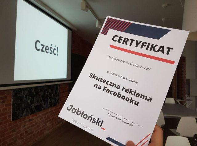 artur jabłoński szkolenie jak zrobić skuteczną reklamę na facebooku Podsumowanie roku 2017 17620167 1419293348091457 4865008165654119436 o 1024x762