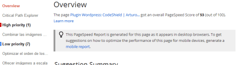 CSS Sprite For Google PageSpeed