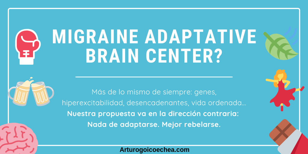 Migraine adaptative brain center