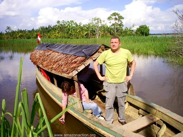 Marco Schneider, a German with an Amazonian heart
