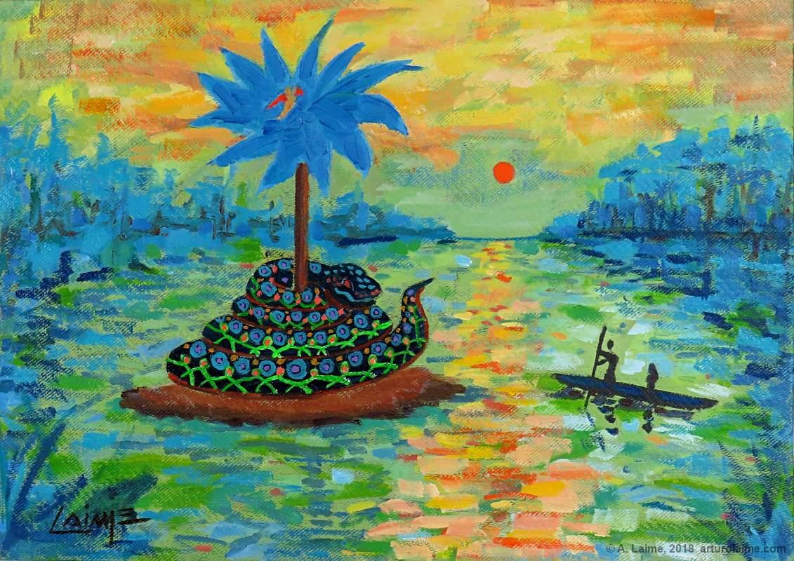 Yacumama painting
