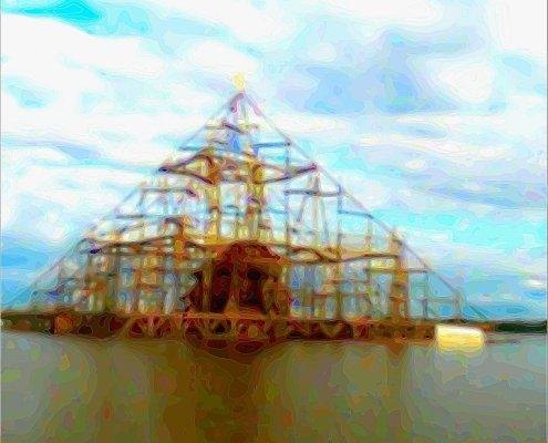 pyramid on amazon river