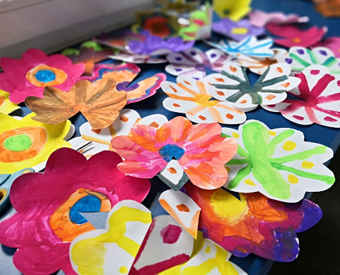 Pop up cards workshop