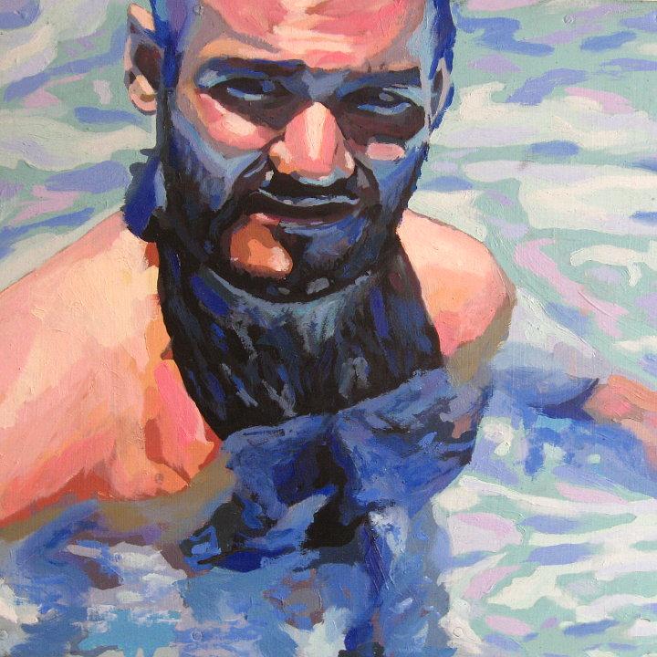 Self portrait of Arturo Laime