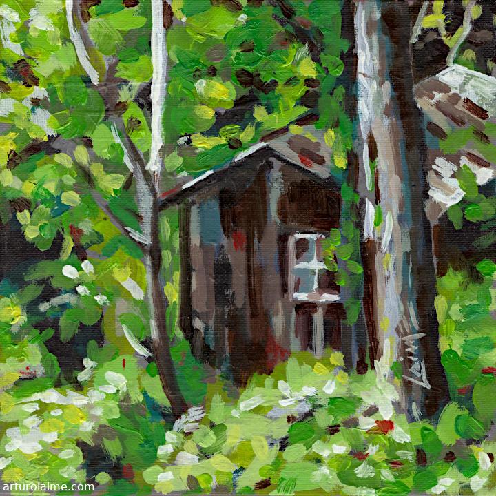 Secret hut by Arturo Laime