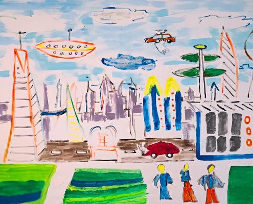 Eine neue Zukunft malen Workshop