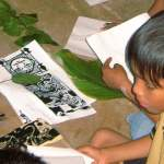 Kunstworkshops für Kinder von Amazonas