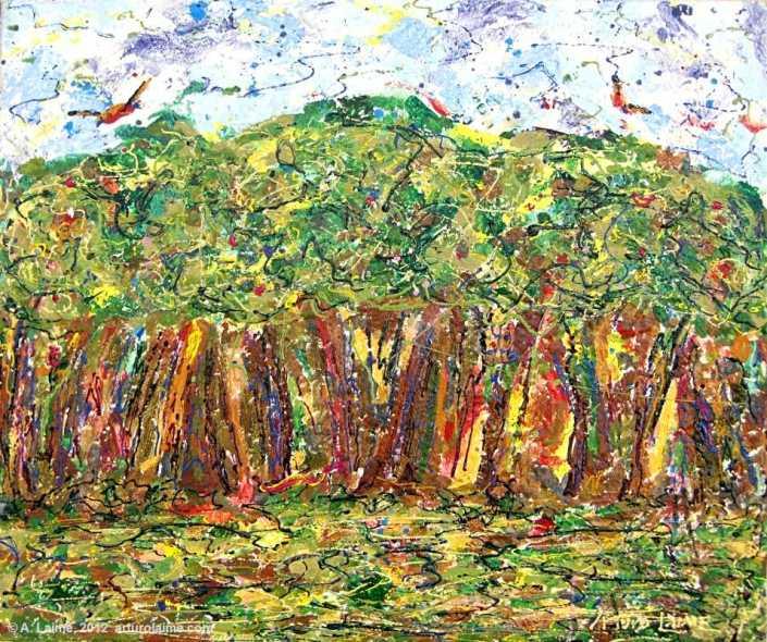 Wald von Yanayacu Gemälde