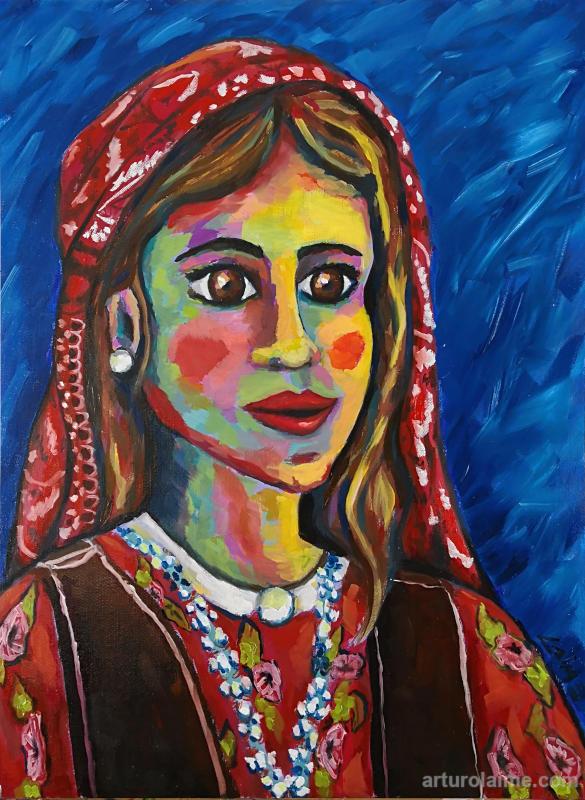Kurdisches Mädchen  von Arturo Laime