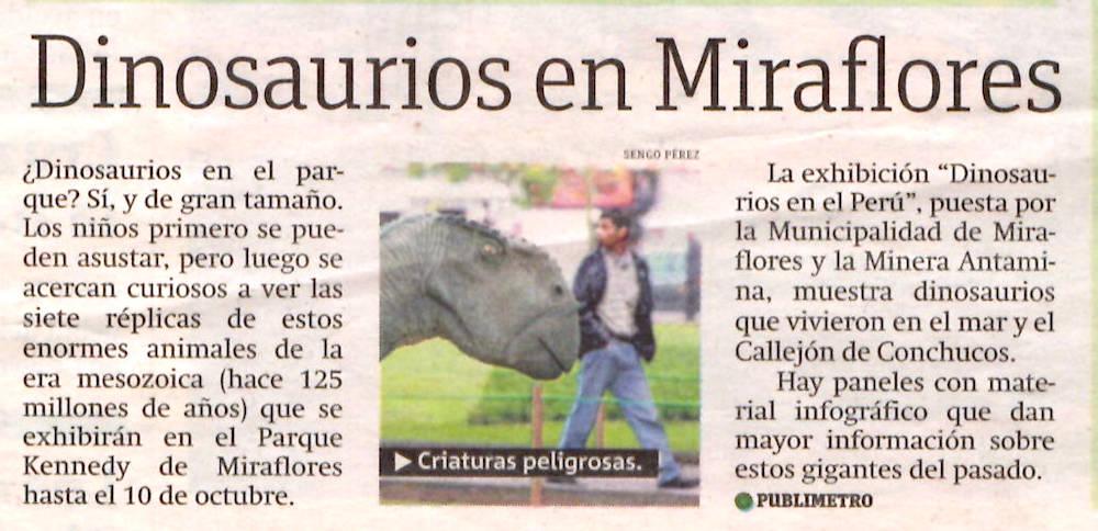 Arturo Laime im Publimetro 08092011