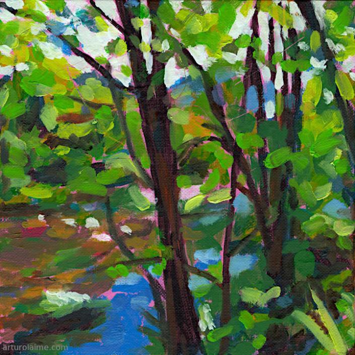 Weisenbach Ufer von Arturo Laime