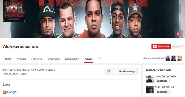 Canales de youtube mas vistos en dominicana