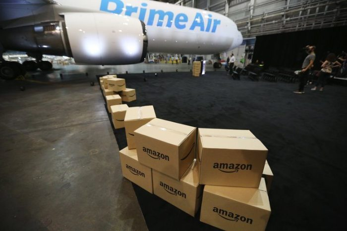 Amazon One, parte de Amazon Air