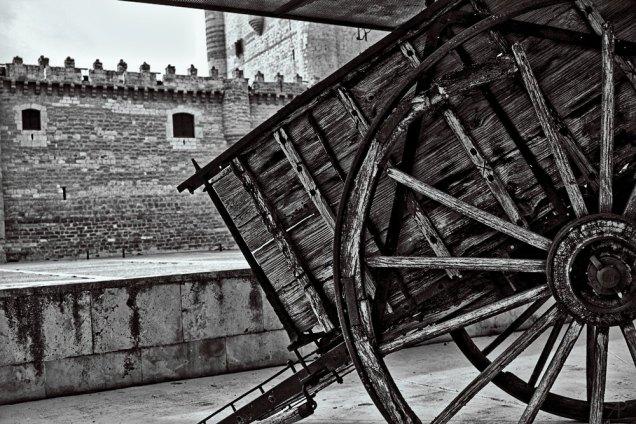 Carro y castillo