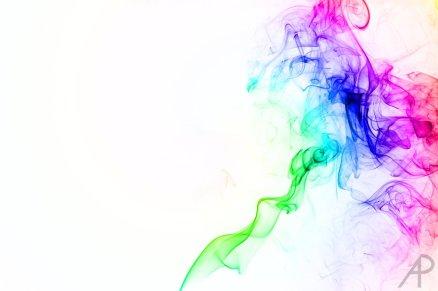 Fotografía humo coloreada