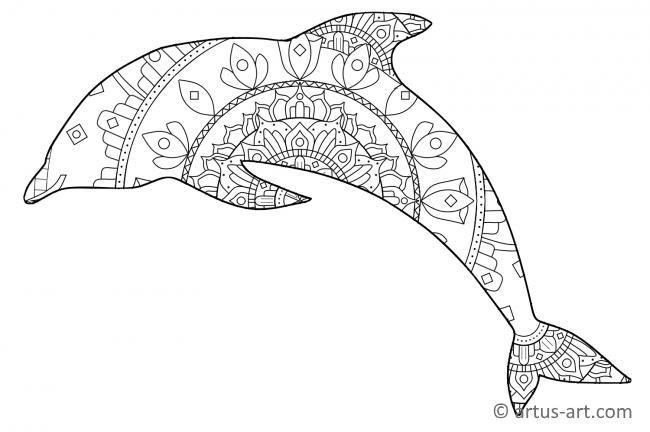 Delphin Malvorlagen Zum Ausdrucken Deutsch