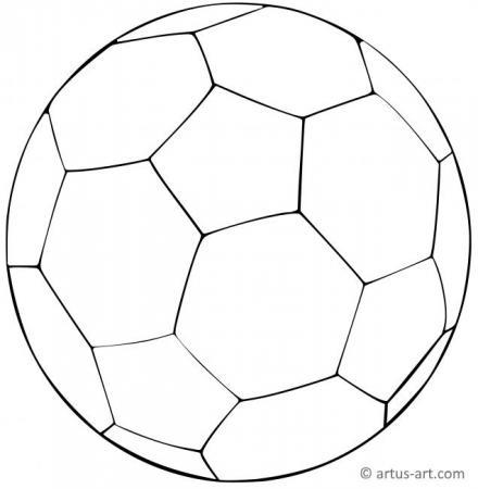 Fußball Ausmalbilder » Aufregende Fußball Malvorlagen zum