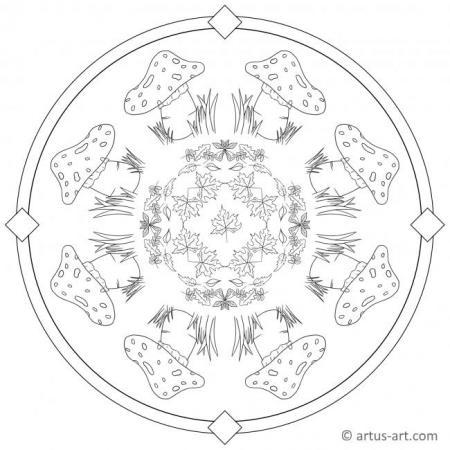 34 Mandala Herbst Zum Ausdrucken - Besten Bilder von
