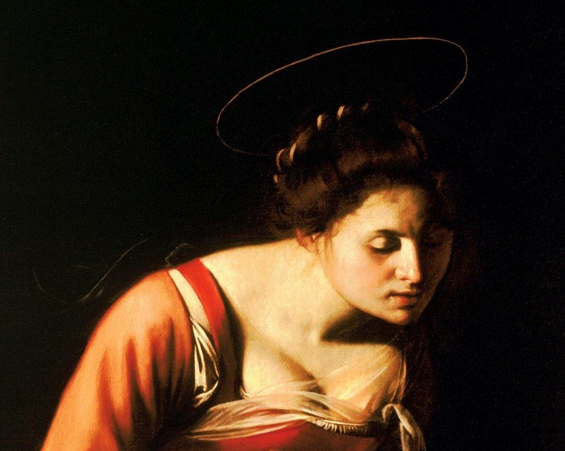 caravaggio-madonna dei palafrenieri