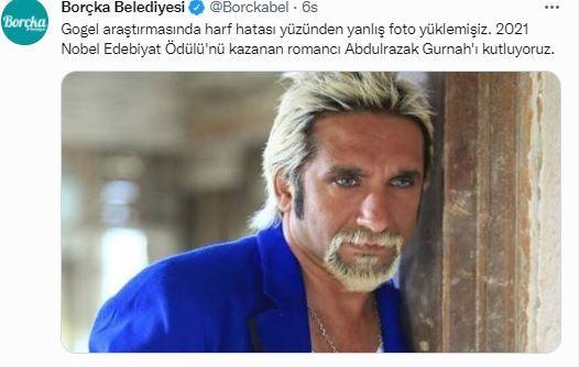"""Borçka Belediyesinin paylaşımıyla ilgili Tarık Mengüç'ten açıklama: """"Nobel ödülü almışım da haberim yok"""""""