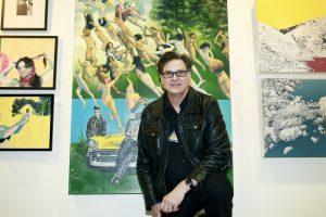 Bruce Adams In2art Gallery @ Echo Art Fair photo by Cheryl Gorski