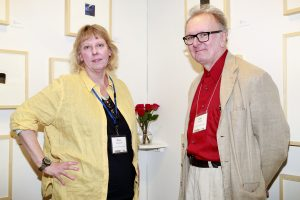 Diane Janowski & Allen C Smith @ Echo Art Fair photo by Cheryl Gorski