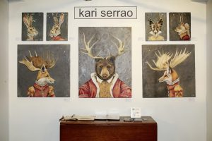 Kari Serrao In2art Gallery @ Echo Art Fair photo by Cheryl Gorski 1