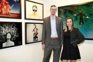 Miller Gallery David C Smith, Jen Gallat @ Echo Art Fair photo by Cheryl Gorski 2