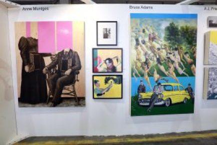 The Benjaman Gallery Gallery @ Echo Art Fair photo by Cheryl Gorski 5
