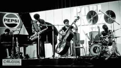 McCoy Tyner Quartet, July 14, 1973 (from left: McCoy Tyner (p), Azar Lawrence (sax), Juini Booth (bass) and Alphonse Mouzon (drums)