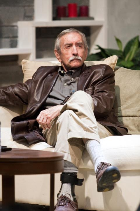 Edward Albee on the Road Less Traveled set