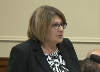 "Assistant Attorney General Susan Sadinsky argued that what prosecutors did in Pfaff's case was done to ""protect"" Pfaff's interests."