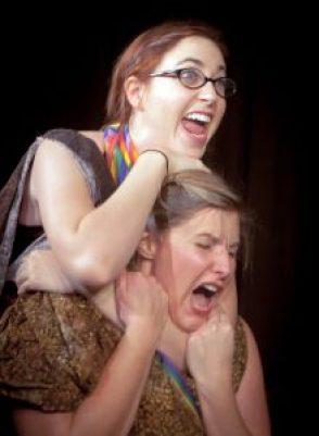 "Jennifer Gembka as Hermia in Brazen-Faced Varlets ""A Midsummer Dyke's Dream"""