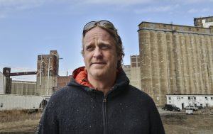 Newell Nussbaumer grew up in Elmwood Village in Buffalo, a vein of the city always considered good. He now runs Buffalo Rising, an alternative print publication that is now online and is an activist for urban renewal. John Rennison The Hamilton Spectator 4/7/15