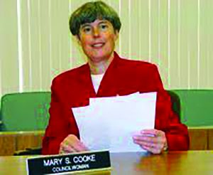 Former Town Supervisor Mary S. Cooke.