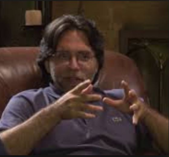 Keith Raniere who prefers to be called by his self given title of Vanguard.