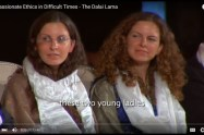 April 2009: While Clare and Sara Bronfman sat on stage and listened to the Dalai Lama speak on compassion, they were awaiting the results of their likely illegal request of Canaprobe to sweep the bank accounts their enemies.