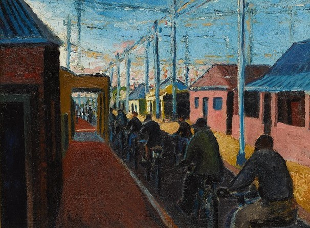 Gerard Sekoto, Cyclists in Sophiatown