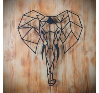 Elephant Metal Wall Decoration - ArtWall and Co